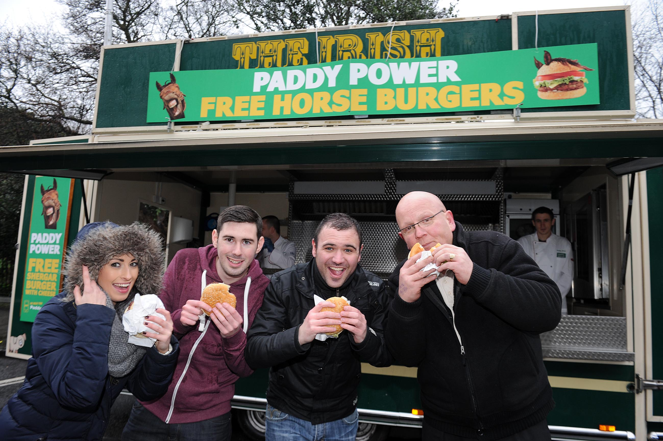 Paddy Power Horse Burger 5