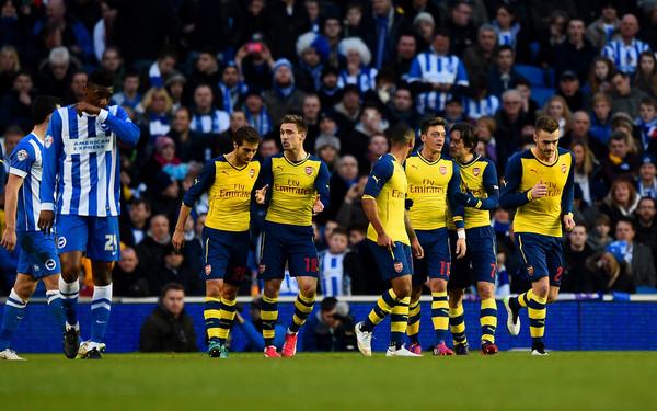 Brighton+Hove+Albion+v+Arsenal+FA+Cup+Fourth+efwfLPx_Y6Kl