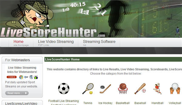 Livescore Hunter