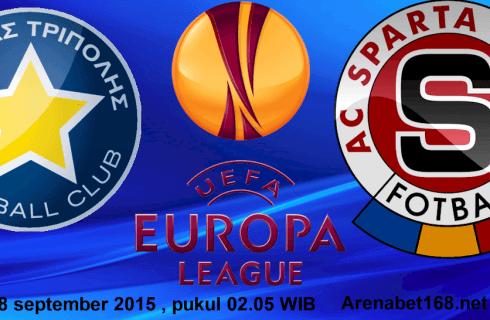 Прогноз на матч Астерас — Спарта, Лига Европы, 17.09.2015