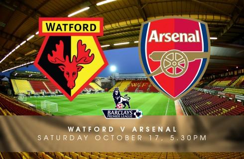 Прогноз на матч Уотфорд – Арсенал, чемпионат Англии, 17.10.2015