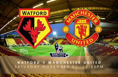 Прогноз на матч Уотфорд – МЮ, чемпионат Англии, 21.11.2015