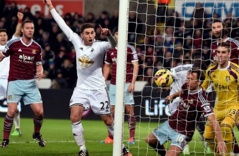Прогноз на матч Суонси Сити – Вест Хэм, чемпионат Англии, 20.12.2015