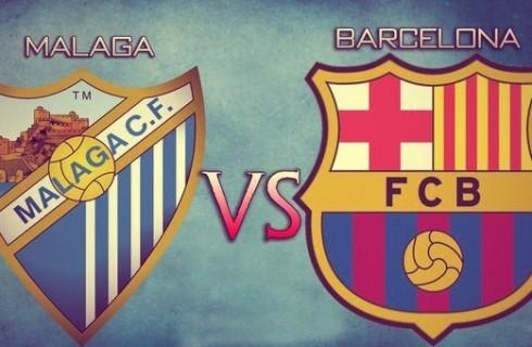 Прогноз на матч Малага — Барселона, чемпионат Испании, 23.01.2016