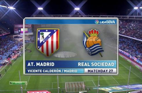 Прогноз на матч Атлетико Мадрид – Реал Сосьедад, чемпионат Испании, 1.03.2016