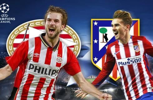 Прогноз на матч ПСВ — Атлетико Мадрид, Лига чемпионов УЕФА, 24.02.2016