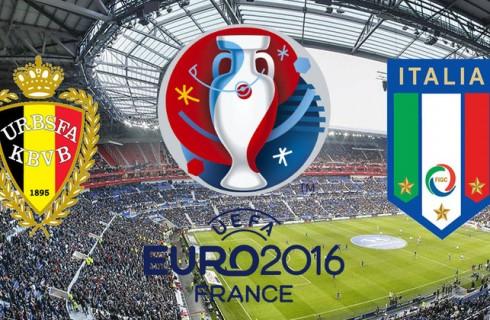 Прогноз на матч Бельгия – Италия, чемпионат Европы, 13.06.2016
