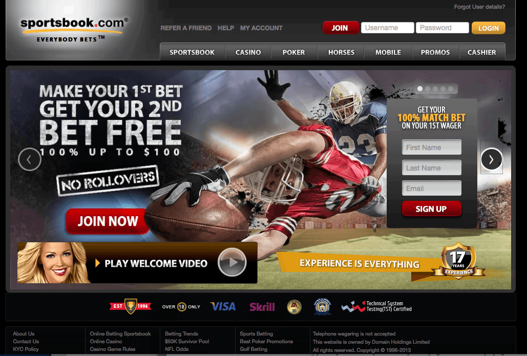 list of sports betting sites